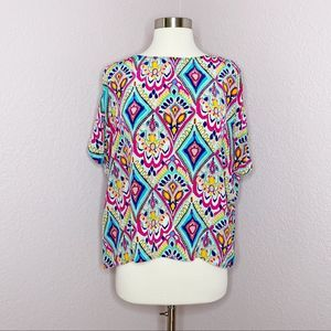 Lilly Pulitzer Crown Jewels Trace Top